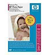 HP Papier Premium Plus Photo Satin-matt (10x15 100szt)