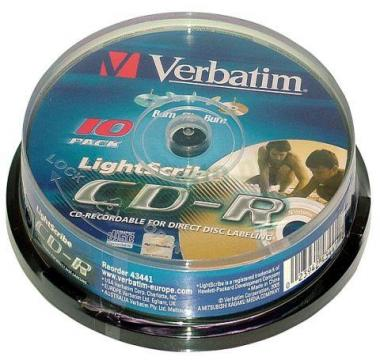 Verbatim CD-R 700MB 52x Data Life Cake(10szt.)