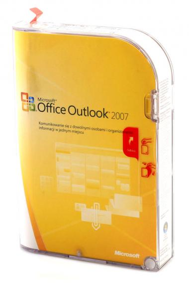 Microsoft Outlook 2007 PL BOX