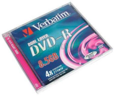 Verbatim DVD+R 8.5 GB 8x Double Layer Jewel (5szt.)
