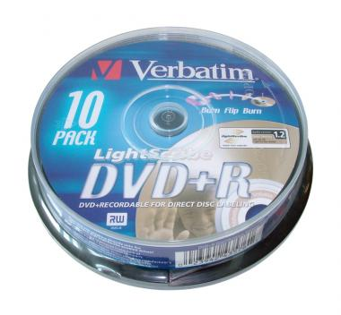 Verbatim DVD+R 4.7 GB 16x Lightscribe Jewel Case (5 szt.)