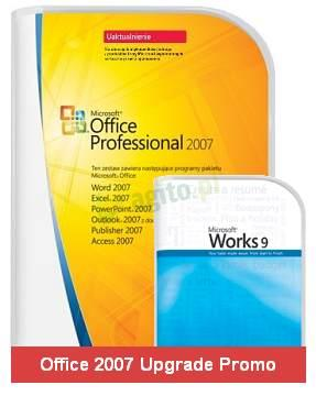 Microsoft Office 2007 Professional Promo (Works 9.0 SE + Office 2007 Professional Upgrade)