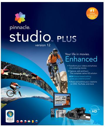 Pinnacle Studio 12 Plus PL BOX