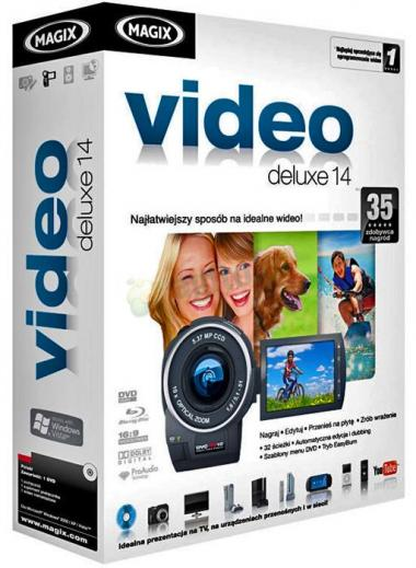 Magix Video Deluxe 14 PL BOX