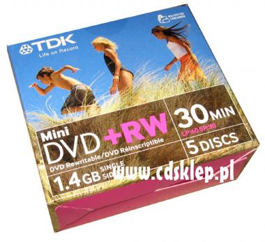 TDK pisaki do płyt CD/DVD