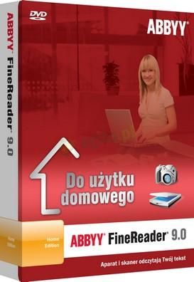 ABBYY FineReader 9.0 Home Edition PL BOX