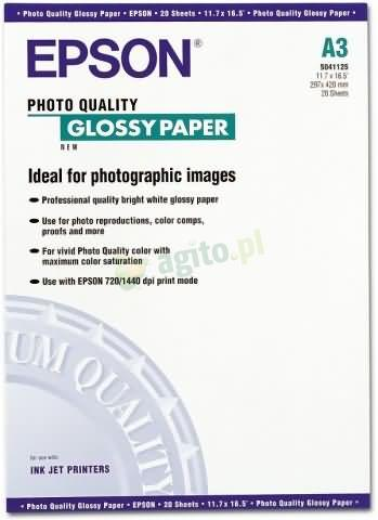 Brother Papier Glossy (A3 20szt)