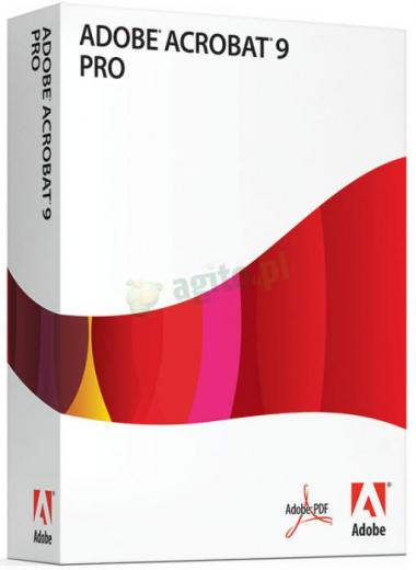 Adobe Acrobat 9.0 Professional WIN PL BOX